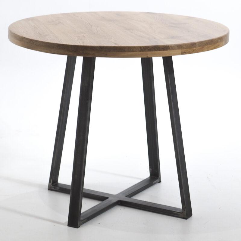 Stół okrągły z dębu