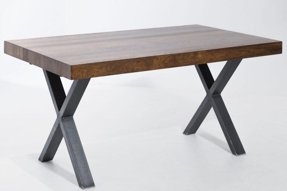 Rozkładany stół industrialny