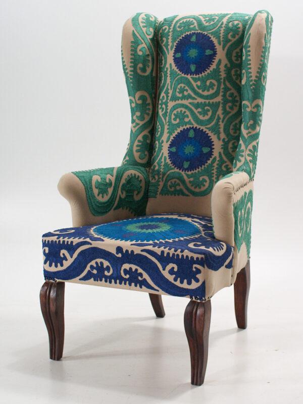 Fotel w stylu Boho