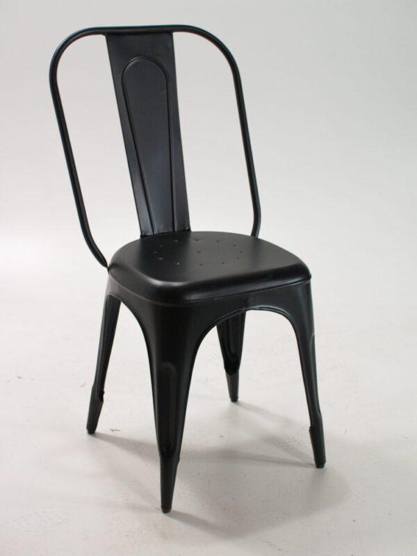 Metalowe krzesło