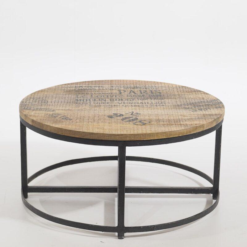 Indyjski stolik drewniany