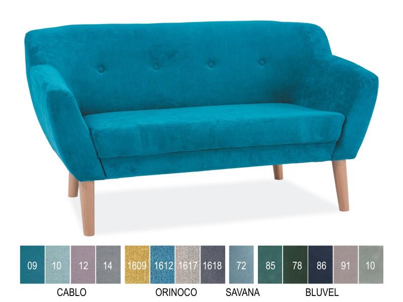 Sofa Bergen 2 tapicerowana