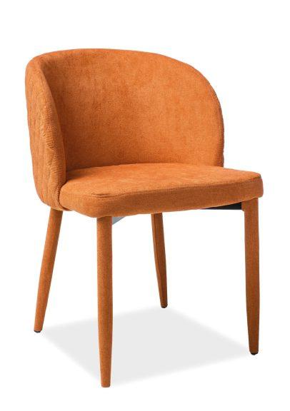 krzesło carlos pomarańczowe