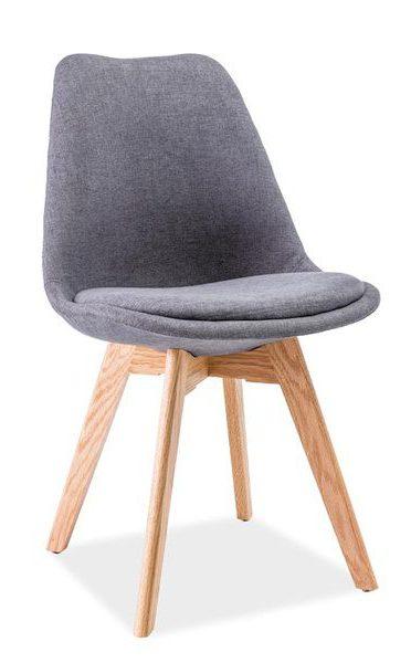 Krzesło dior ciemnoszare