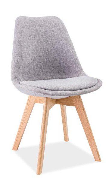 Krzesło dior jasnoszare