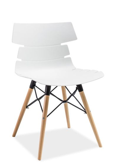 Krzesło białe Ferro