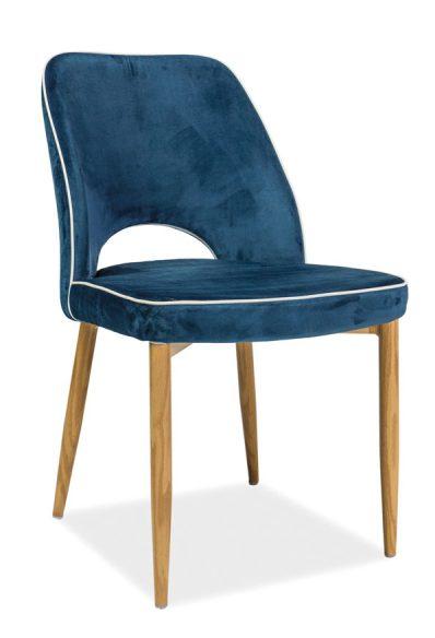Krzesło verdi granatowe