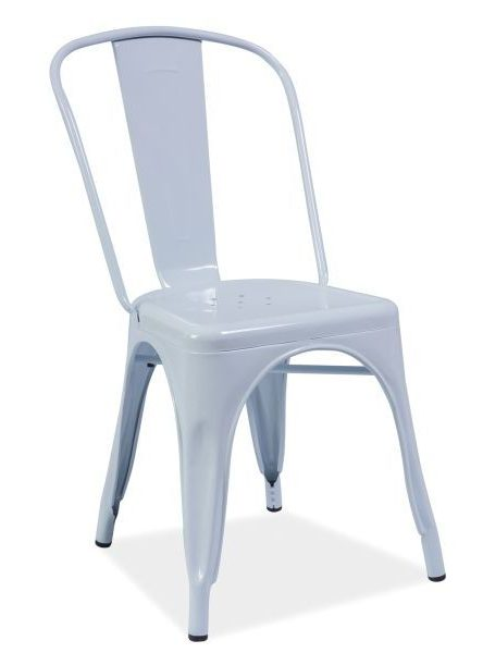 Białe krzesło loft