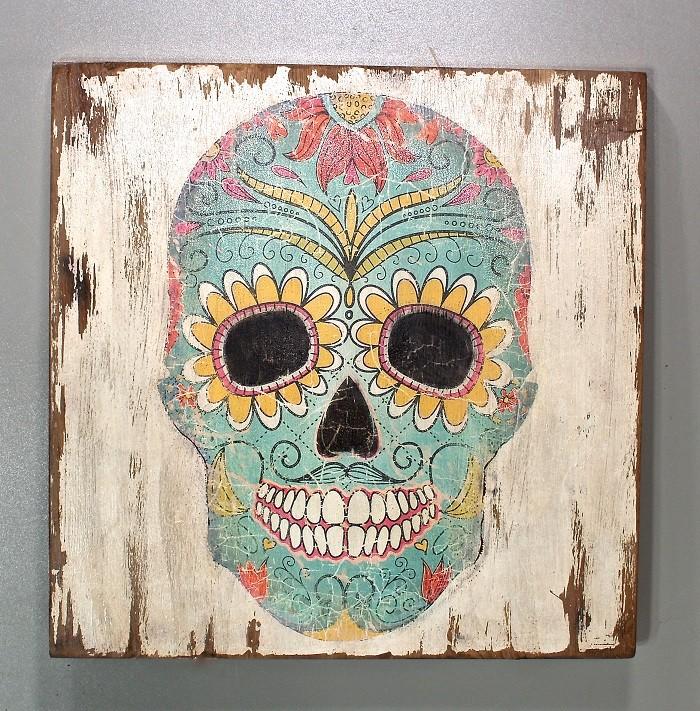 Panel czaszka meksykańska