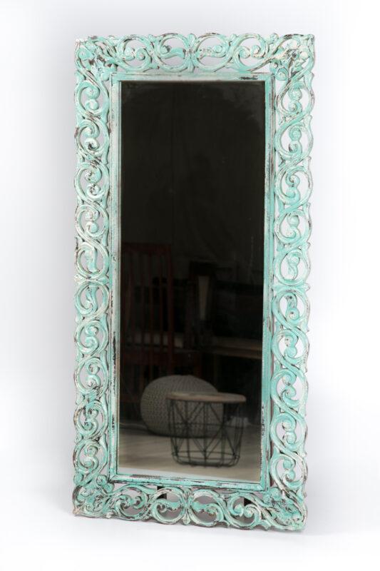 Indyjskie lustro rzeźbione
