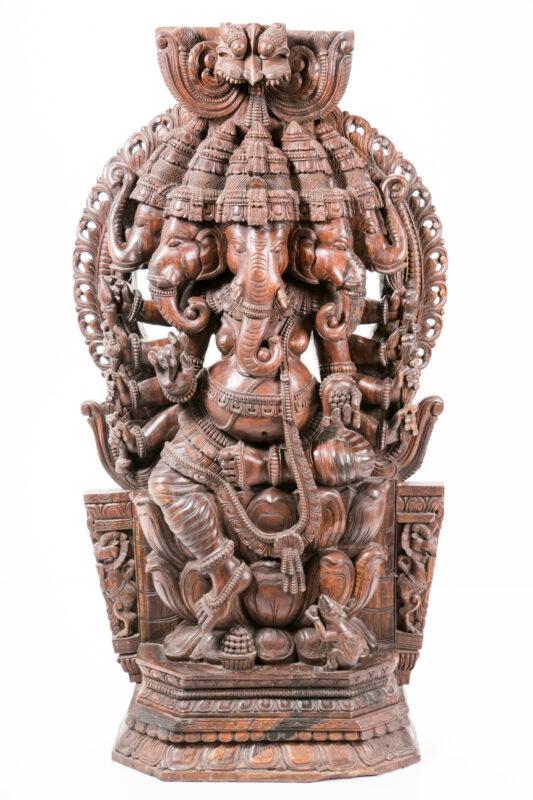 Indyjska rzeźba Ganesh